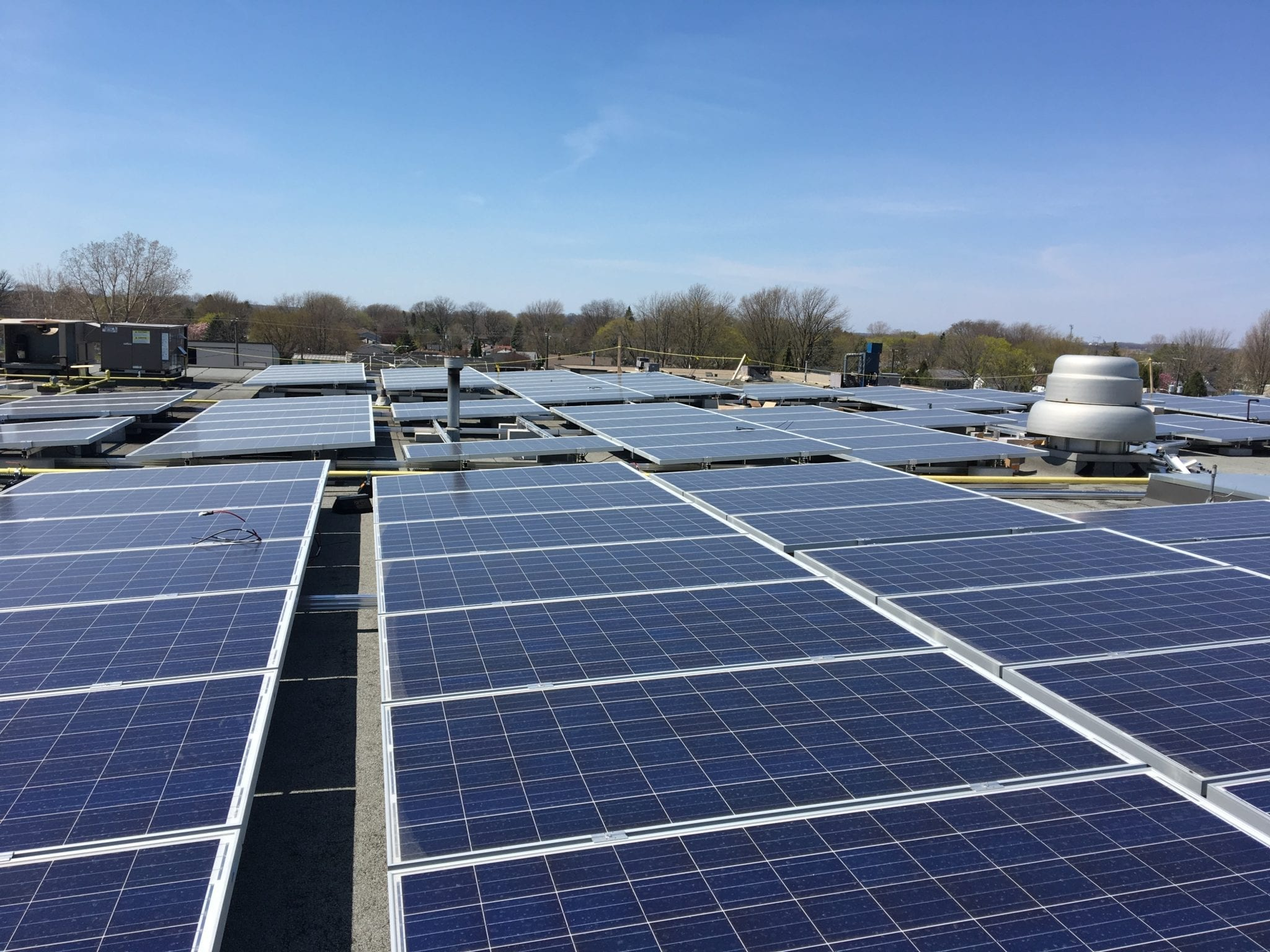 Skyline Clean Energy Fund Rooftop Solar Panel System